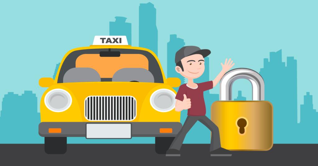 4 dicas de segurança para taxistas