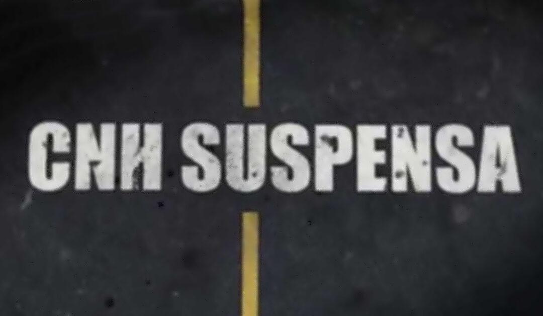 Notificação de suspensão da CNH emitida pelo DETRAN: o que fazer quando receber?