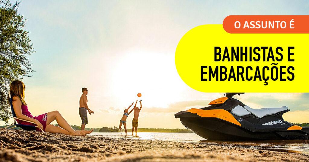 Regras de convivência entre banhistas e embarcações nas praias