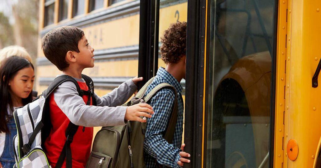 Segurança no transporte escolar