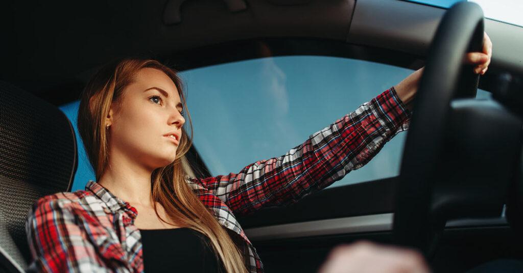 sinais visuais de trânsito
