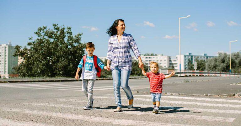 Educar crianças para o trânsito