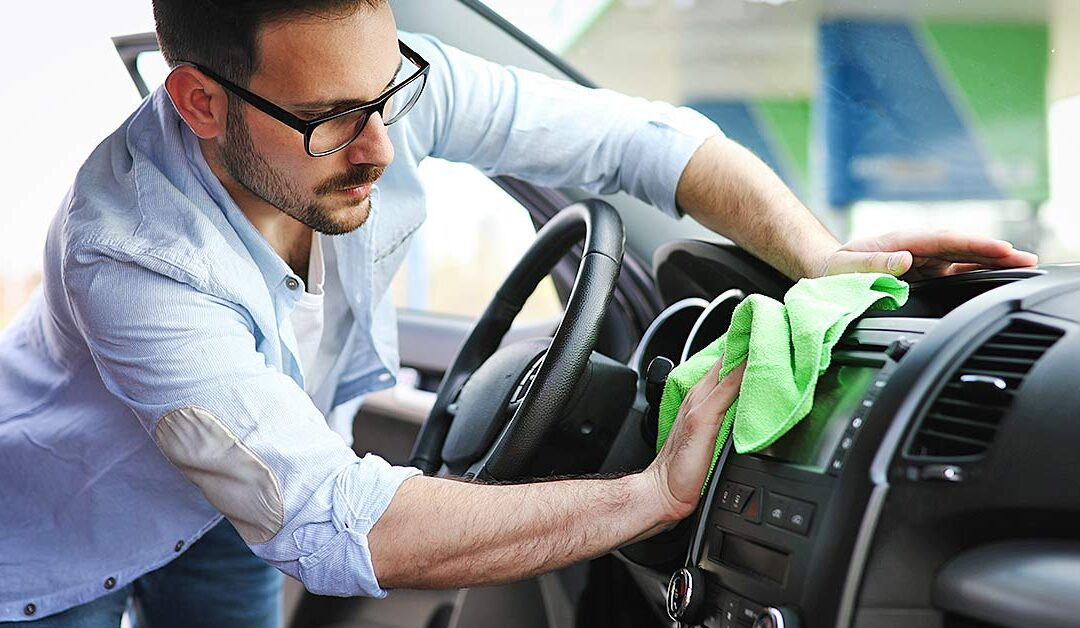 Como manter o veículo limpo de vírus e bactérias?
